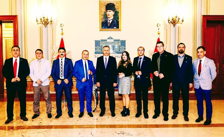Adalet Birlik Partisi ve İstanbul Kaymakamı Ali Yerlikaya