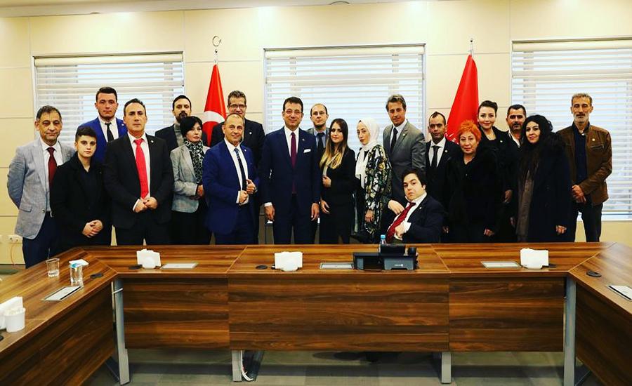 Adalet Birlik Partisi ve İstanbul Büyükşehir Belediye Başkanı Ekrem İmamoğlu