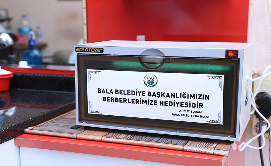 Bala Belediye Başkanı Ahmet Buran 'dan Hediye