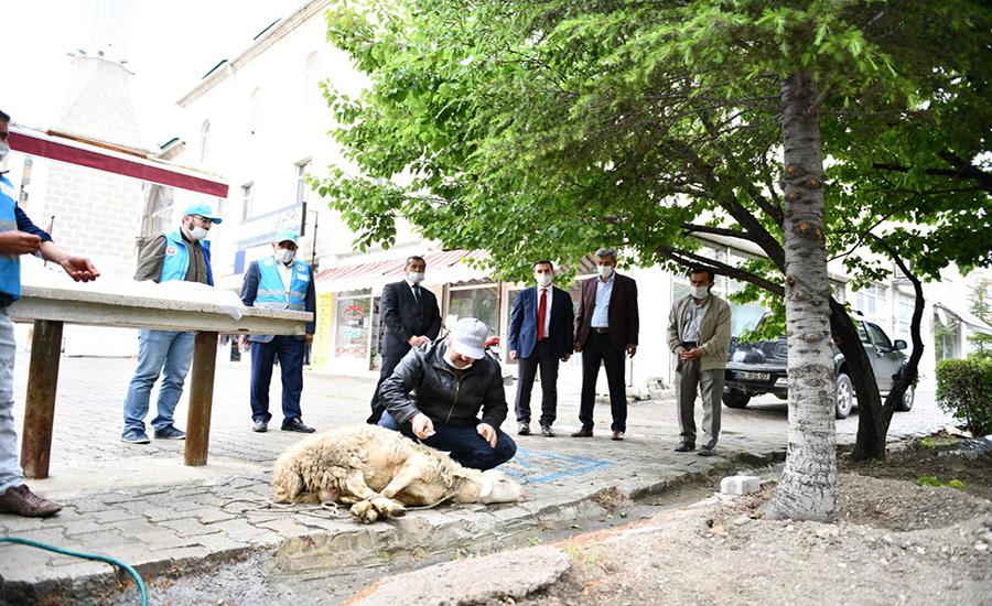 Beypazarı'nda Şükür Kurbanı