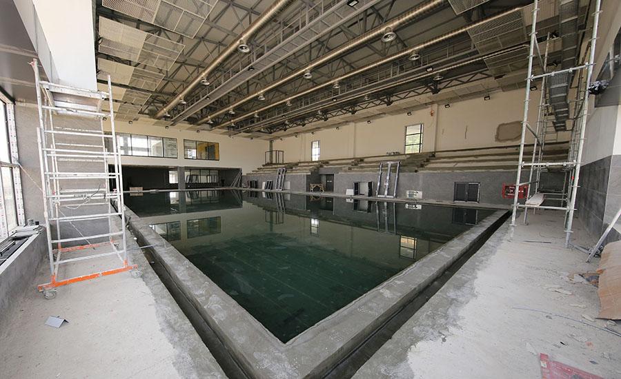 Çankayaya Yeni Yüzme Havuzu