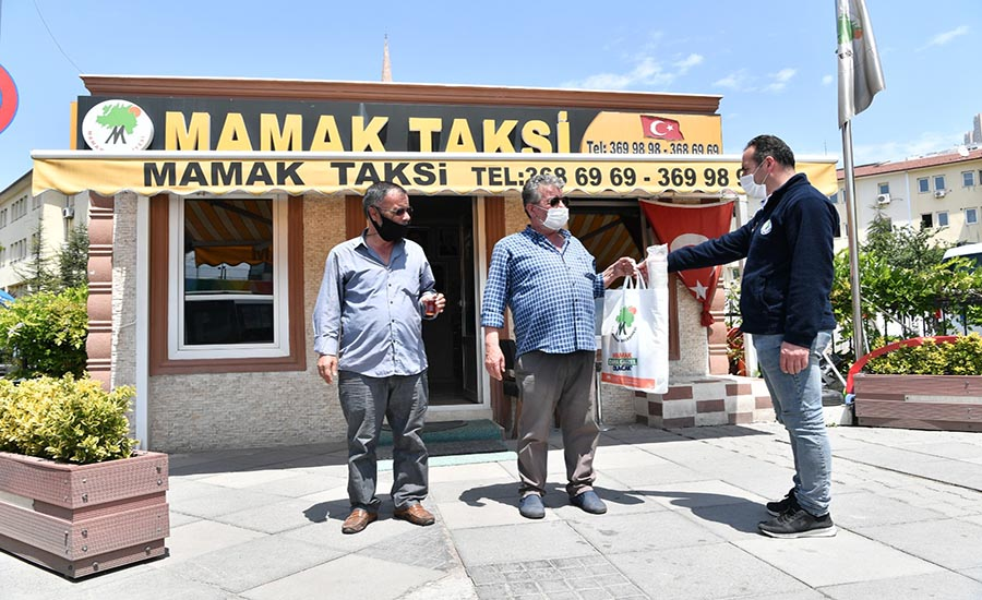 Mamak Belediyesi Ulaşım Esnafının Yanında