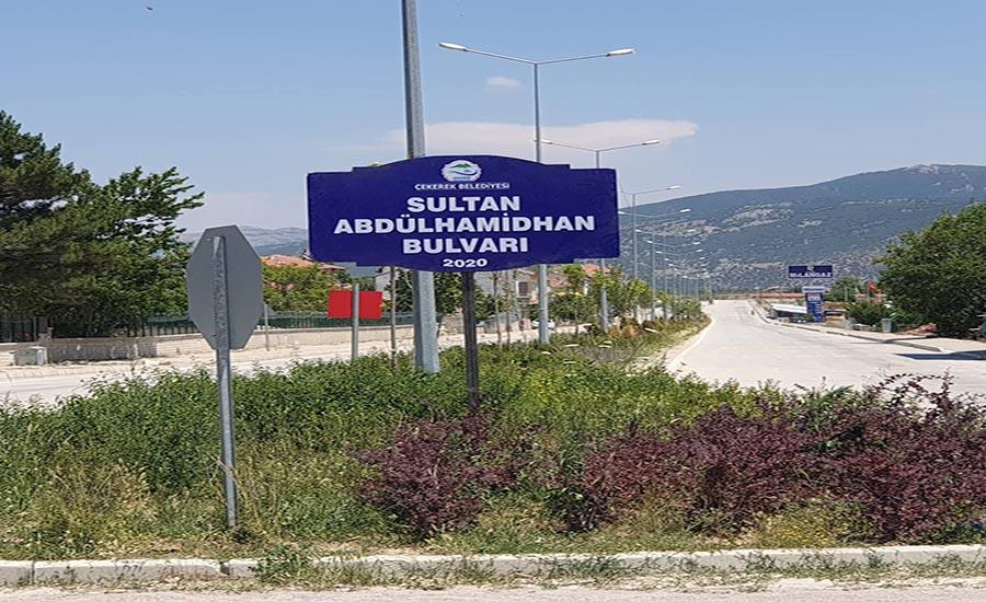 Çekerek Belediyesinden Abdülhamid Han Paylaşımı