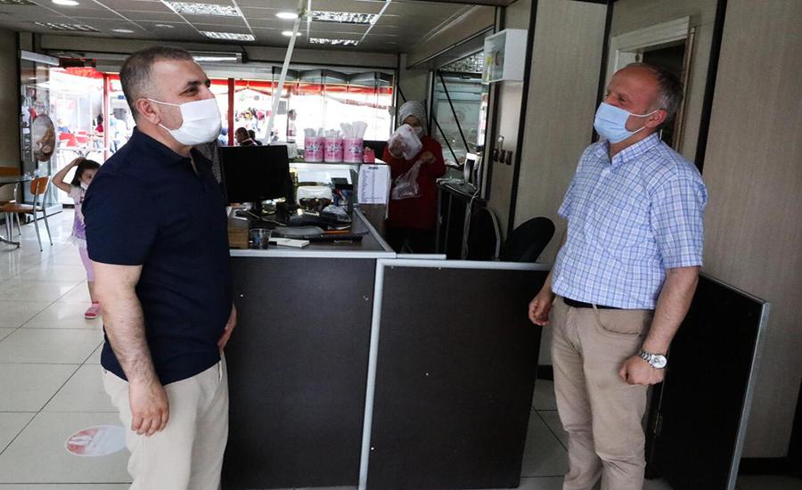 Murat Ercan Hafta Sonu Esnafı Ziyaret Etti