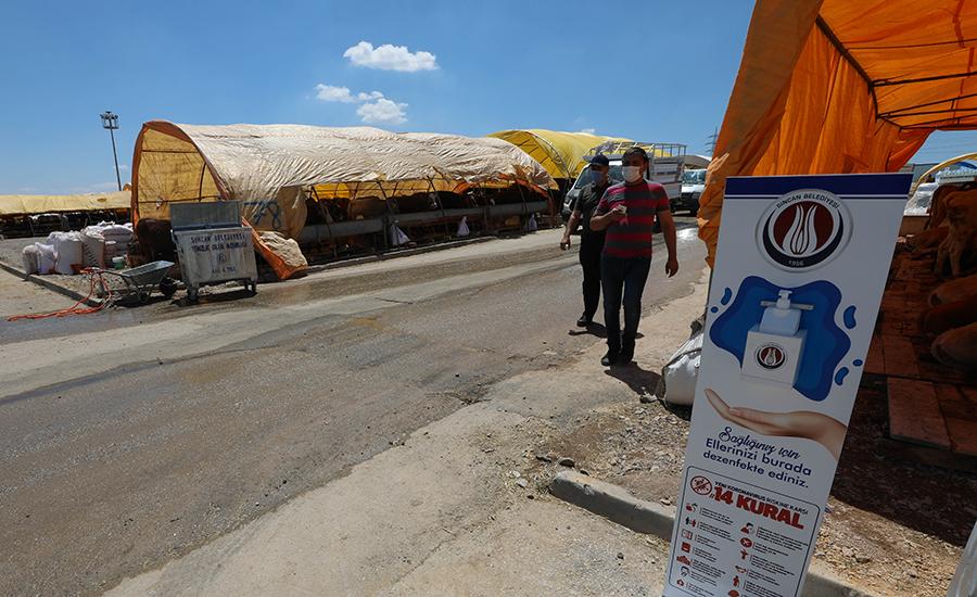 Sincan Belediyesi Kurban Satış Yerlerinde Tedbirini Aldı