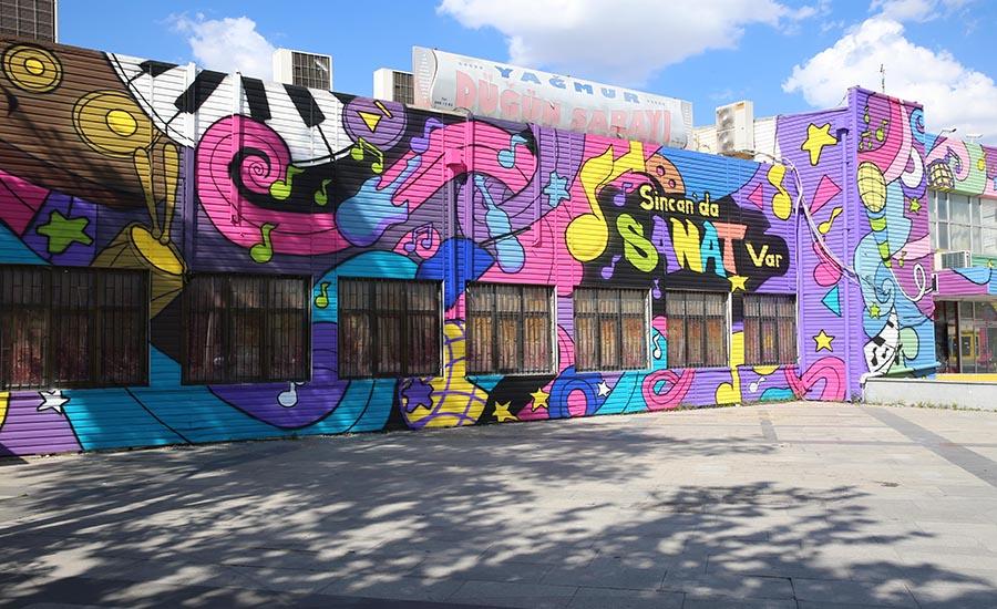 Sincan Belediyesi Sanata Destek Veriyor