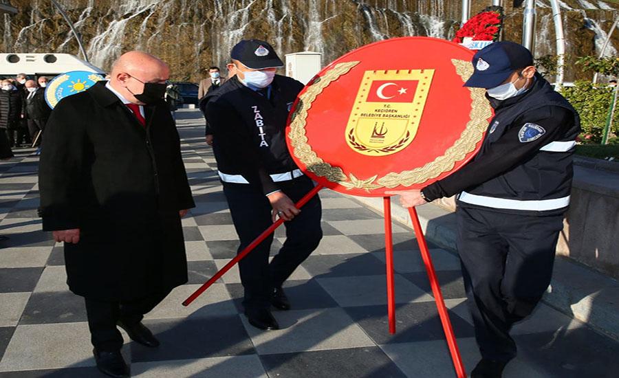 Atatürk Keçiören'de Ölümsüzleştirildi