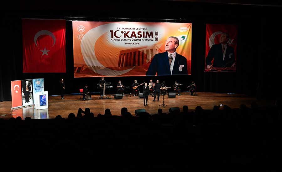 Atatürk Mamak'ta Anıldı