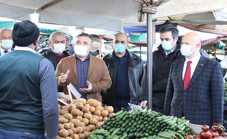 Başkan Ercan Denetimlere Devam Ediyor